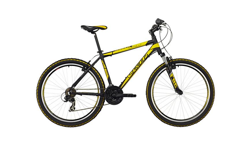 "Serious Rockville MTB Hardtail 26"" geel/zwart"